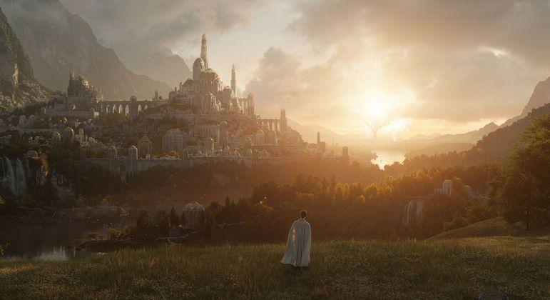 Primeira imagem divulgada da série sobre 'O Senhor dos Anéis'