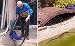 Uma serpente altamente venenosa foi encontrada na piscina de uma casa emMaroochydore, na AustráliaLeia mais!Grupo de aficionados tira as fotos mais artísticas já vistas de cobras