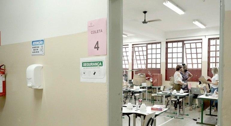Vacinação em Serrana