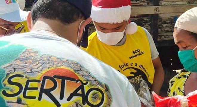 ONG ajuda pessoas com vulnerabilidade social no sertão do nordeste