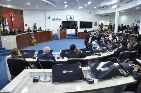 Sessão da Câmara de Fortaleza