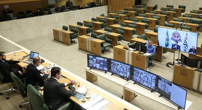 Alesp deve discutir esta semana projeto de lei do orçamento 2021