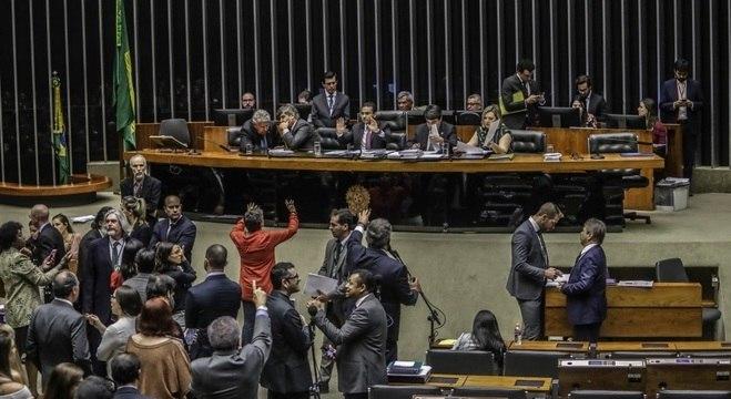 Câmara dos Deputados, que volta do recesso nesta segunda (3)