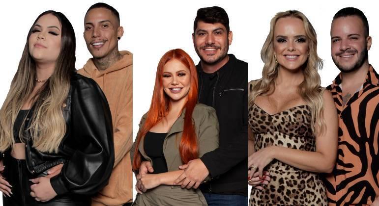 Mari e Matheus, Mirela e Yugnir e Nina e Filipe disputam a preferência do público