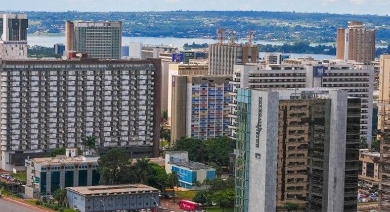 Setor Hoteleiro Sul, em Brasília