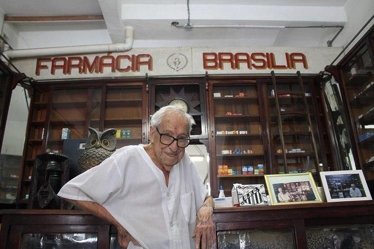 Seu Walter atendeu na bela Brasília até dias antes de morrer, em 2020, aos 95 anos