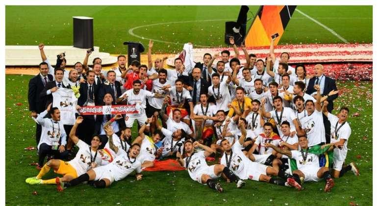 O Sevilla, campeão de 2019/20