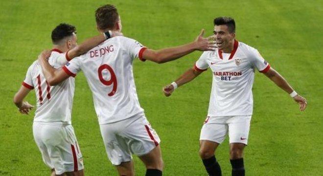 Luuk De Jong, Sevilla 1 X 0 Rennes