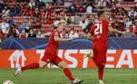 Após Adeyemi desperdiçar a primeira oportunidade na marca da cal, Sucic anotou o primeiro gol da partida após cobrança de pênalti. Mais tarde, Sucic realizou mais uma cobrança e desperdiçou mais uma chance de gol para os austríacos
