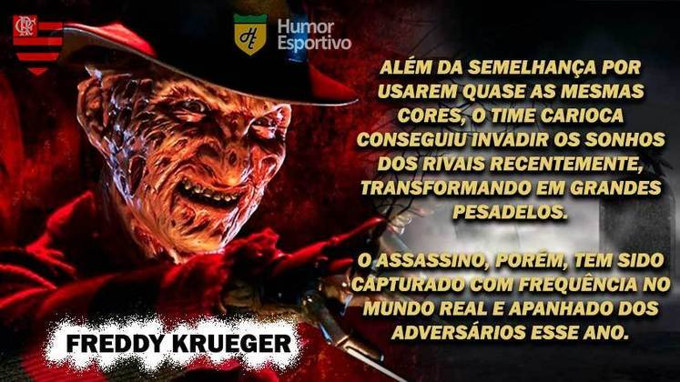 Sexta-feira 13: Flamengo seria o Freddy Krueger, do filme