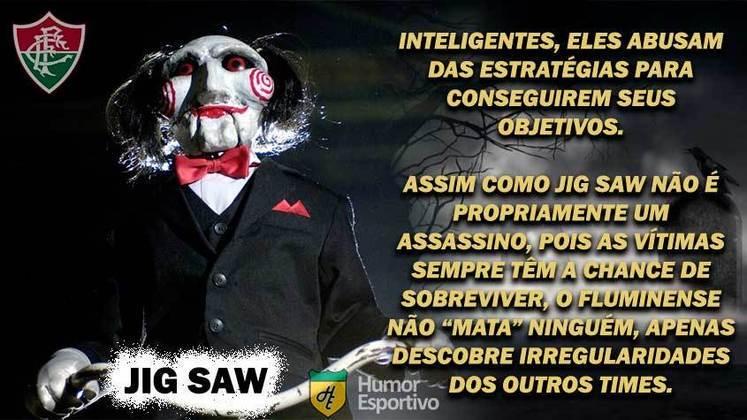 Sexta-feira 13: Fluminense seria Jig Saw, da série