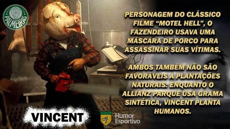Sexta-feira 13: Palmeiras seria o porco assassino do filme
