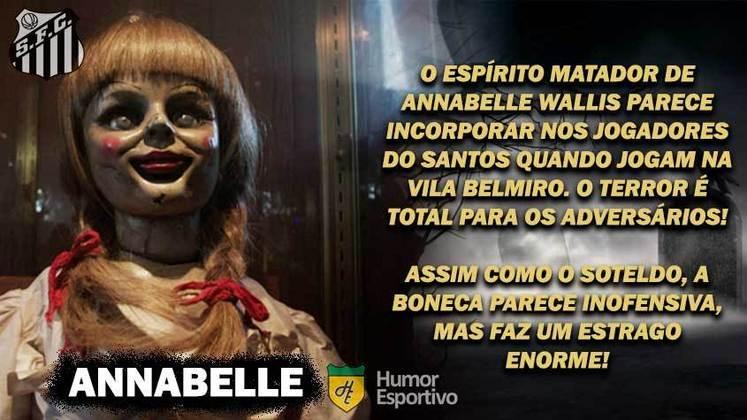 Sexta-feira 13: Santos seria a assustadora boneca
