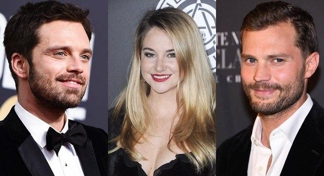 Shailene Woodley, Sebastian Stan e Jamie Dornan protagonizam novo filme