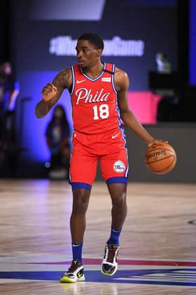 Shake Milton (Philadelphia 76ers) 5,5 -  Autor de 13 pontos e três assistências, Milton cometeu três erros de ataque e nada mais