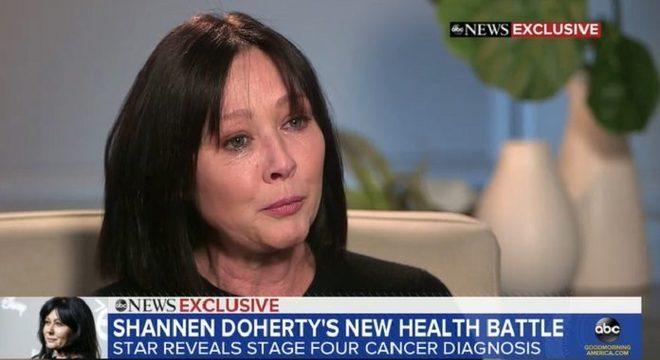 Shannen Doherty (Barrados no Baile) revela câncer de mama avançado
