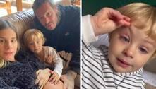 Filho de Shantal é levado às pressas ao hospital: 'Não estava respirando'