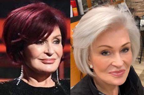 Internautas elogiaram transformação de Sharon