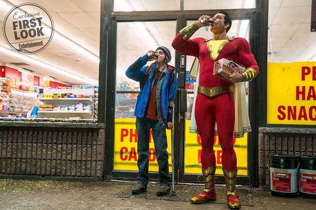 Revista divulga primeira foto oficial de Shazam!