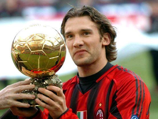 Shevchenko: A lenda ucraniana e que fez história no Milan, tem 48 gols em 100 jogos de Champions.