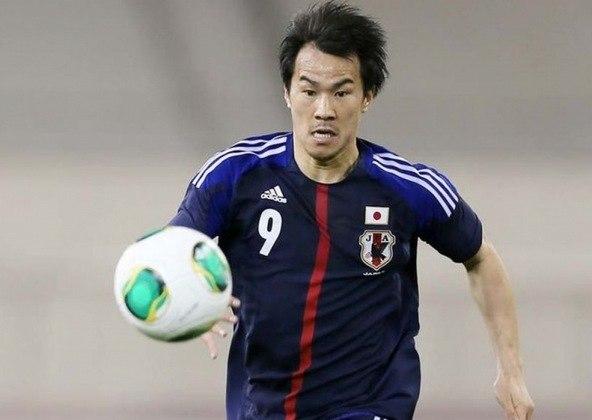 Shinji Okazaki, jogador da seleção japonesa de 34 anos, tem contrato com o Huesca até junho.