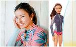 Colegas de modalidade de Maya Gabeira, como a surfista japonesaShino Matsuda também já viraram brinquedos