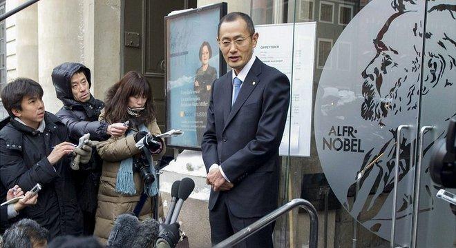 O professor Shinya Yamanaka ganhou o Prêmio Nobel de Medicina em 2012
