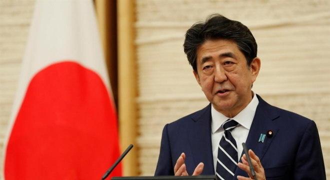 Shinzo Abe ocupava o cargo de primeiro-ministro desde 2012