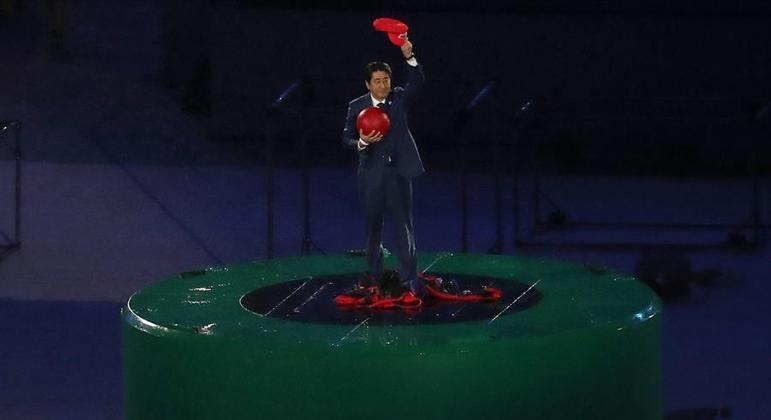 Shinzo Abe foi um dos grandes responsáveis pela escolha de Tóquio como sede-olímpica