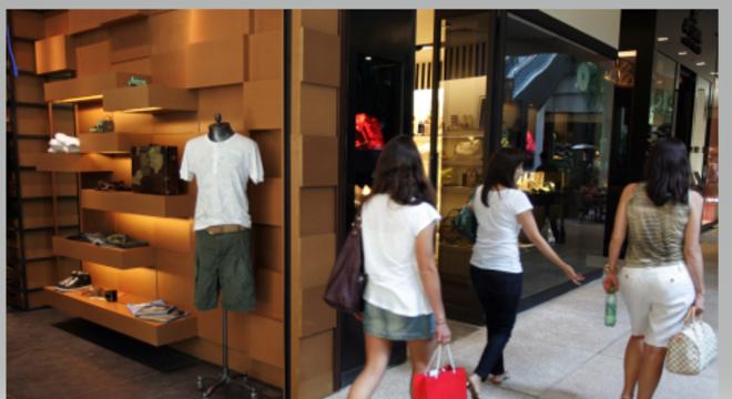 Movimento no Shopping Cidade Jardim