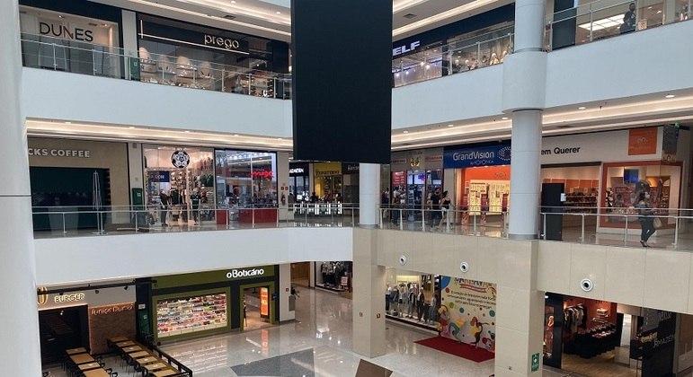 Shopping Tatuapé, em São Paulo, na reabertura ao público