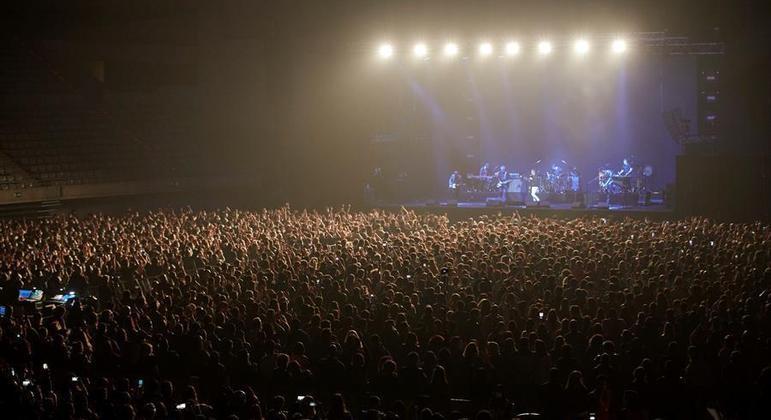 Espanha realizou show teste em Barcelona para 5 mil pessoas em março