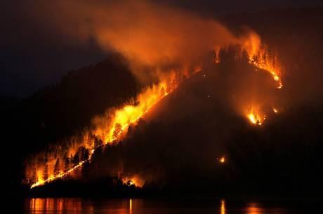 Os focos de incêndio estão em regiões afastadas