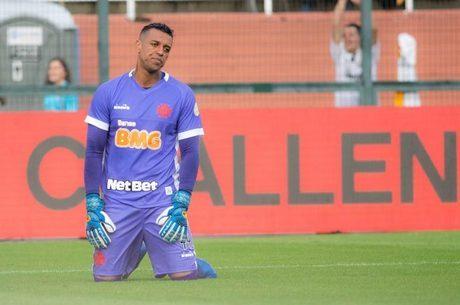 Sidão falhou na derrota do Vasco contra o Santos