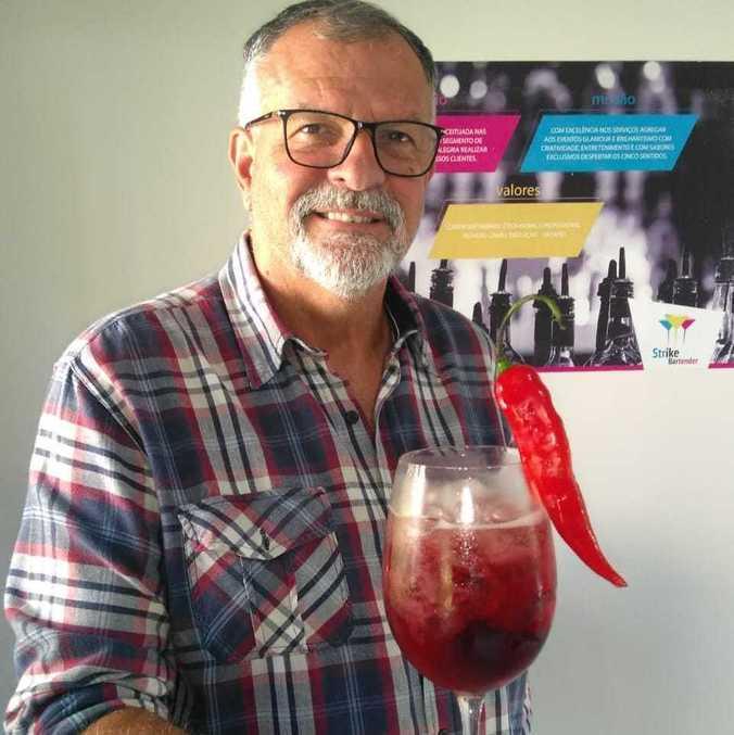Sidnei Matarazzo, da Strike Bartender: 'Toda dificuldade gera uma nova ideia de trabalho'