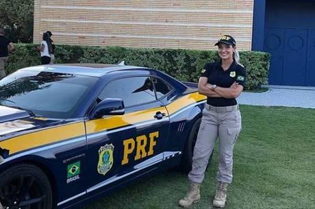 Silmara passou em concurso e virou policial rodoviária