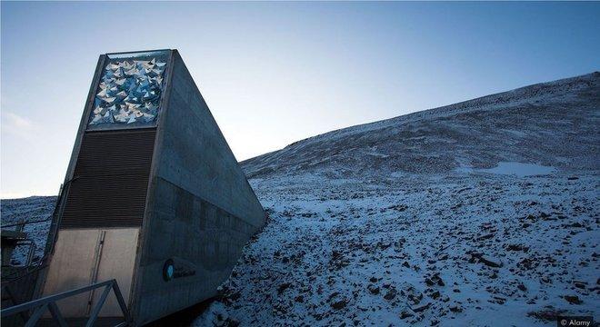 Em 2016, o silo global de sementes 'Doomsday Vault' foi invadido pela água derretida