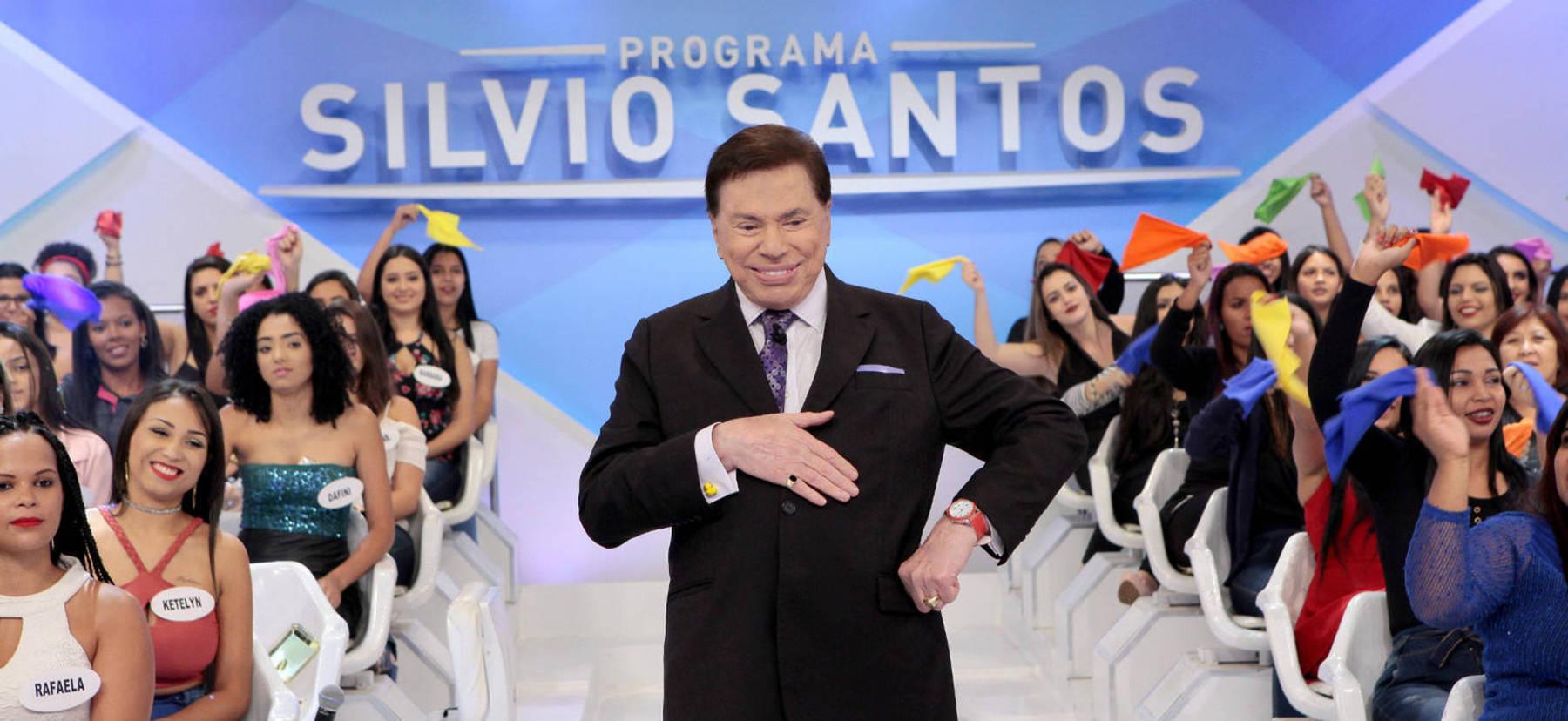 Programas de auditório sempre foram uma marca de Silvio Santos (Lourival Ribeiro/SBT/Divulgação)