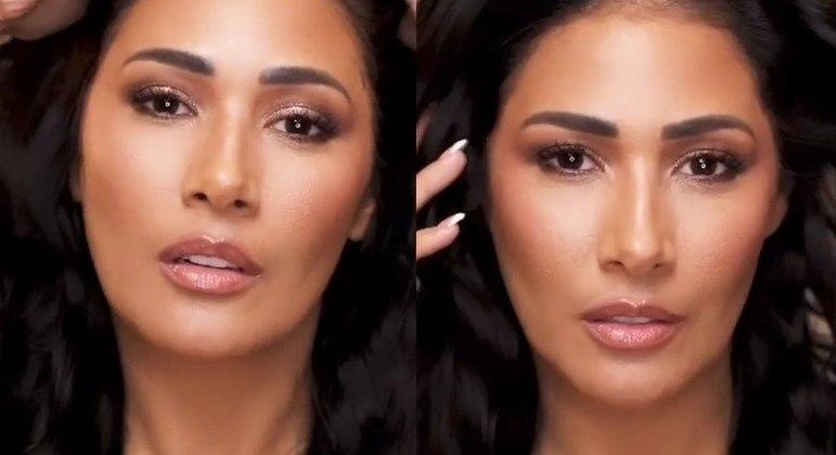 De top, Simaria fez caras e bocas em vídeo publicado nas redes sociais