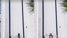 Simaria impressiona com porta gigante: 'Gosto de tudo grande'