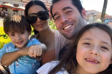 Giovanna e Pawel são filhos de Simaria e Vicente