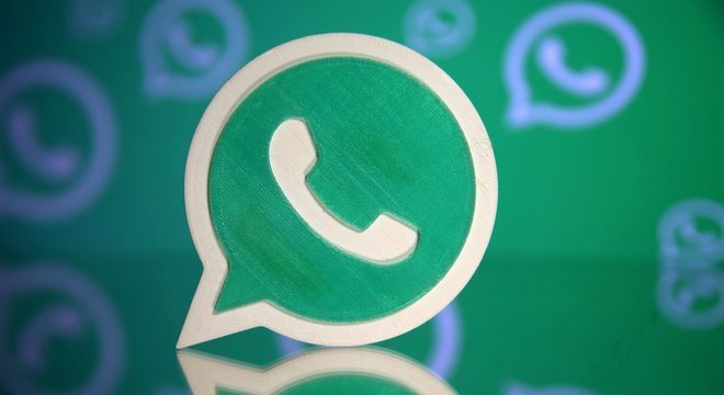 Símbolo do WhatsApp