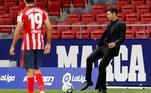Simeone, Diego Costa, Atlético de Madri