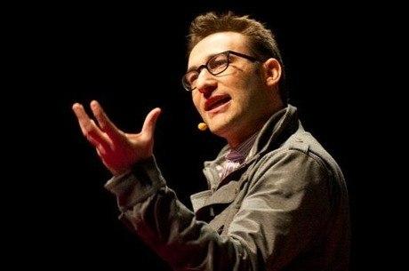 O autor e professor Simon Sinek