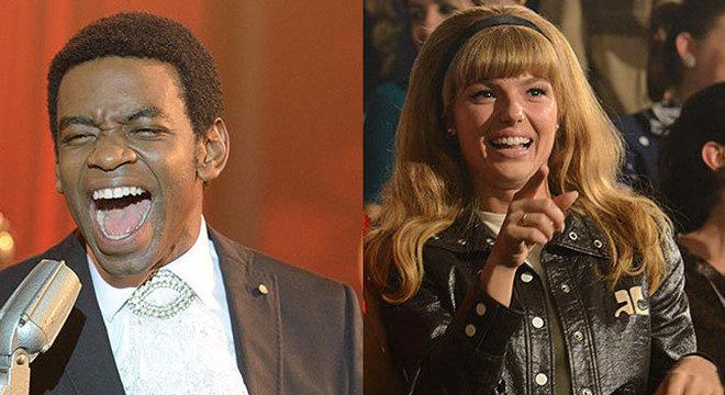 Fabrício Boliveira e Isis Valverde são as estrelas de Simonal