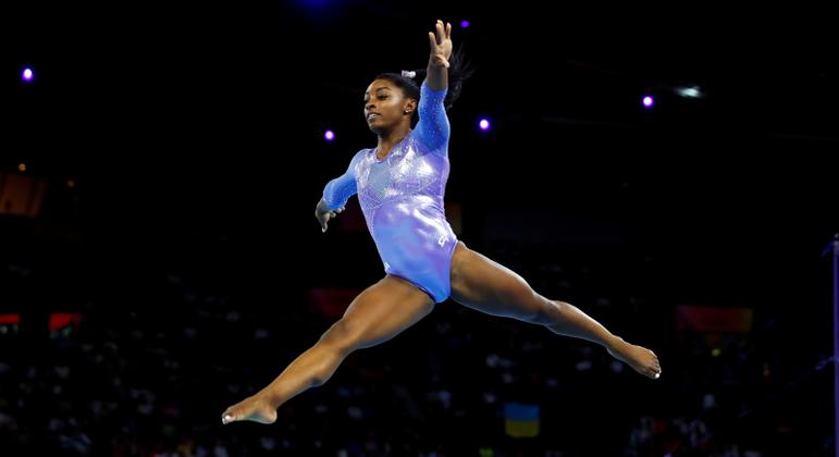 Simone Biles já conquistou quatro medalhas de ouro em Jogos Olímpicos