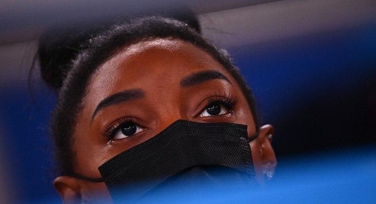 Simone Biles desistiu de três finais da ginástica da Olimpíada