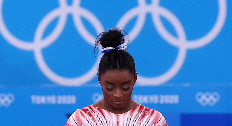 """""""Eu deveria ter desistido muito antes de Tóquio"""", desabafa Simone Biles"""