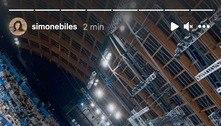 Na arquibancada, Biles desfaz Fla x Flu da ginástica olímpica