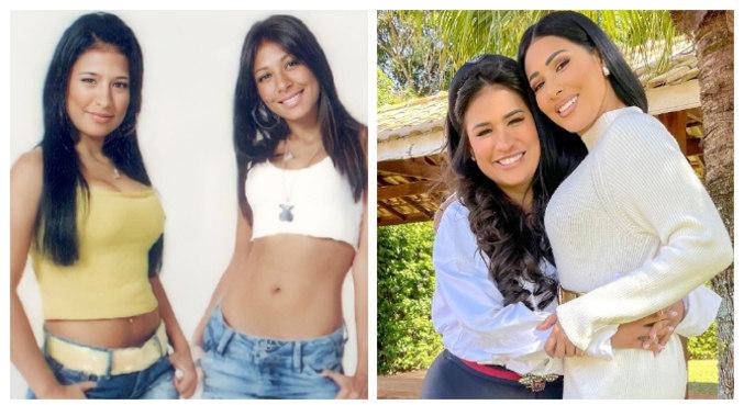 Na web, Simone e Simaria postaram foto antiga, do início da carreira
